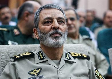 قائد الجيش الإيرانى اللواء عبدالرحيم موسوى