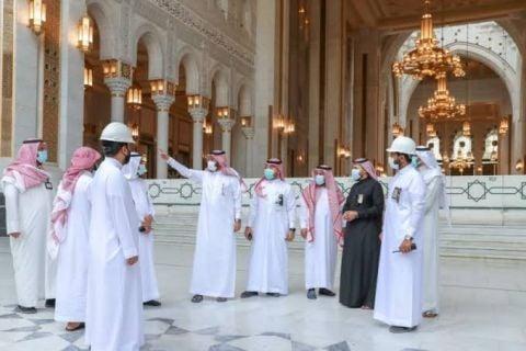شؤون الحرمين تنظم دخول الحجاج بسعة 11 ألف حاج وتخصص 500 من كوادرها لاستقبالهم