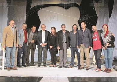 مسرحية سيلفي الموت تصوير احمد عبد الجواد