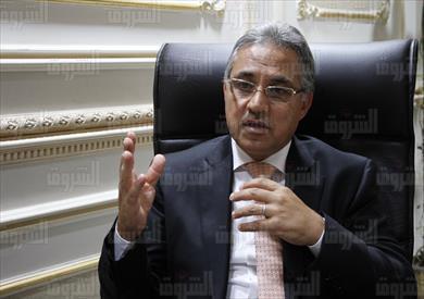 احمد السجيني رئيس لجنة الادارة المحلية تصوير لبنى طارق