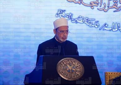 الدكتور أحمد الطيب شيخ الأزهر الشريف تصوير احمد عبد الجواد