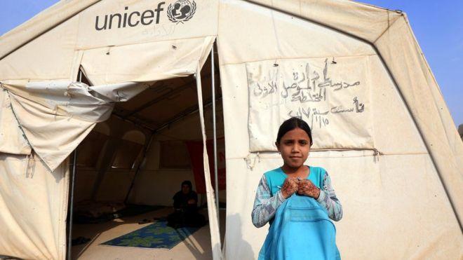يعاني أطفال العراق منذ سنوات من أوضاع معيشية قاسية بسبب الحرب<br/>