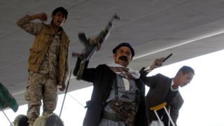 مسلحو الحوثيين ينتشرون في أرجاء صنعاء<br/>