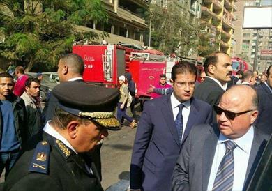 مدير أمن الجيزة وعدد من القيادات الأمنية خلال الحملة