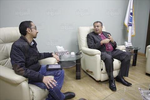 أندريا زكي رئيس الطائفة الإنجيلية فى مصر - تصوير: لبنى طارق