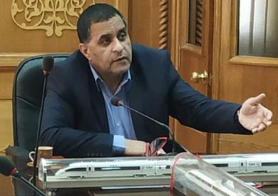 رئيس هيئة السكك الحديدية أشرف رسلان