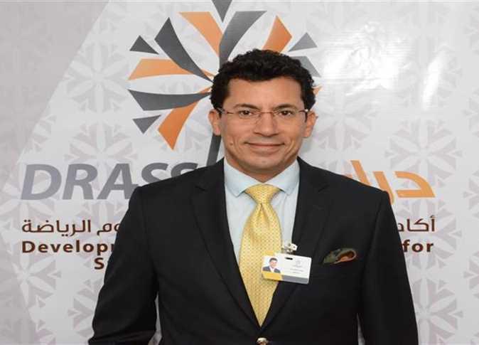 أشرف صبحي - وزير الرياضية