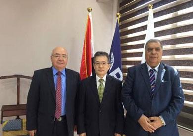 جامعة بدر تستقبل الوزير المفوض لسفارة الصين بالقاهرة