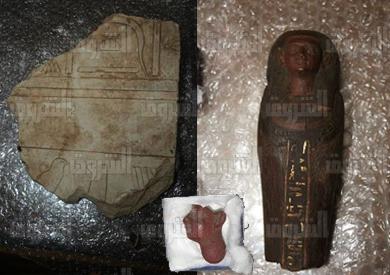 القطع الأثرية المستردة