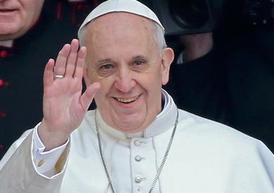 بابا الفاتيكان البابا فرانسيس
