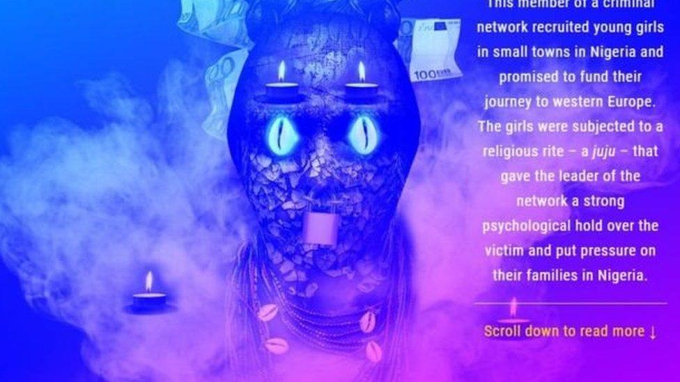 حملة يوروبول تغطي الوجوه في البداية