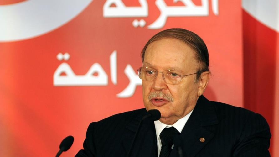 الرئيس الجزائري - عبد العزيز بوتفليقة