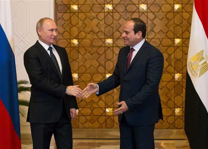 الرئيس السيسي والرئيس الروسي