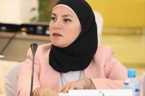 أستاذ الإذاعة والتليفزيون المساعد بجامعة حلوان دكتور رباب عبد الرحمن