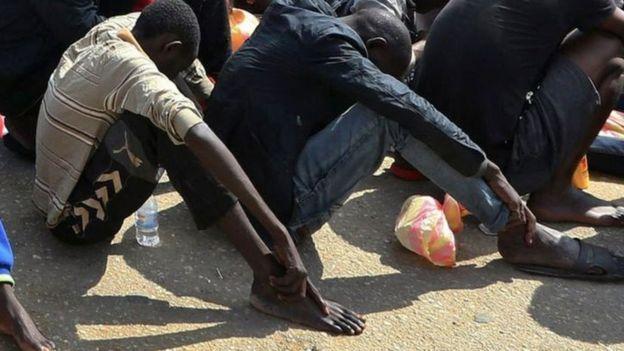 قالت منظمة الهجرة الدولية إنها جمعت أدلة على أسواق العبودية في ليبيا<br/>