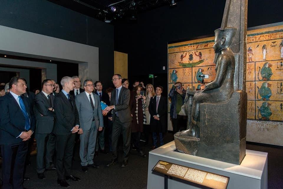 افتتاح معرض توت عنخ آمون باريس