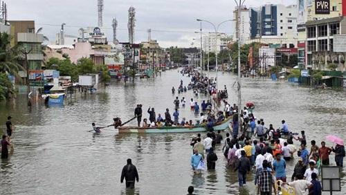 ارتفاع حصيلة قتلى فيضانات ولاية كيرالا الهندية إلى 164