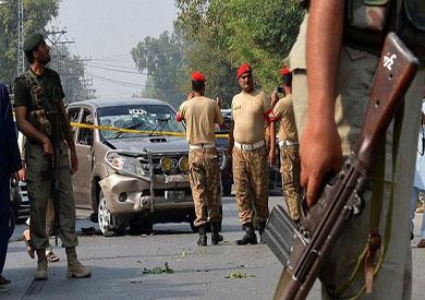 الهجوم الانتحاري بباكستان