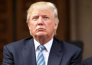 الرئيس الأمريكي - دونالد ترامب