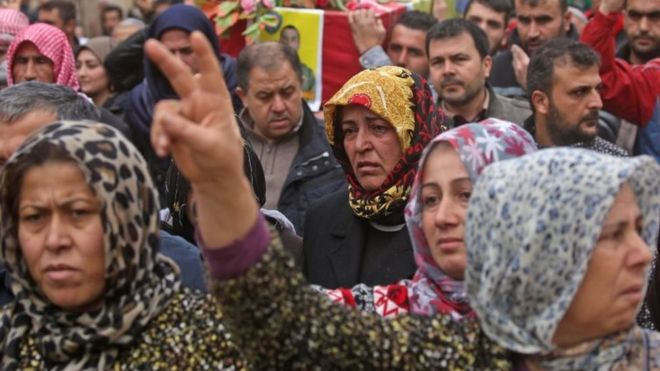 المواجهات العسكرية في عفرين لم يسلم منها المدنيون<br/>