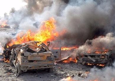 مقتل 4 عراقيين وإصابة 8 آخرين فى انفجار سيارة مفخخة بالأنبار