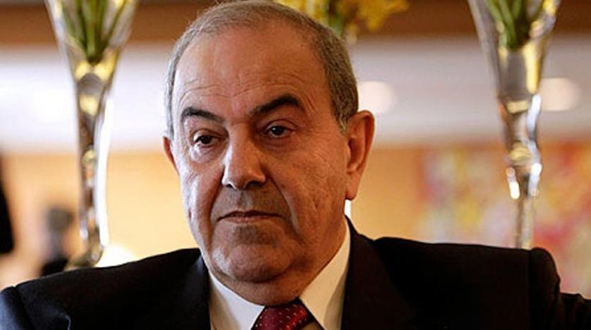 رئيس الوزراء العراقي الأسبق وزعيم ائتلاف الوطنية إياد علاوي