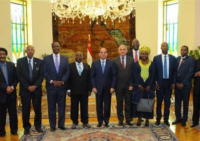 أول قمة رئاسية فى حوض النيل لحل أزمة «اتفاق عينتيبى» 25 مايو 