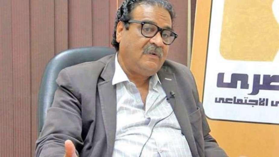 رئيس الحزب المصرى الديمقراطى الاجتماعى فريد زهران