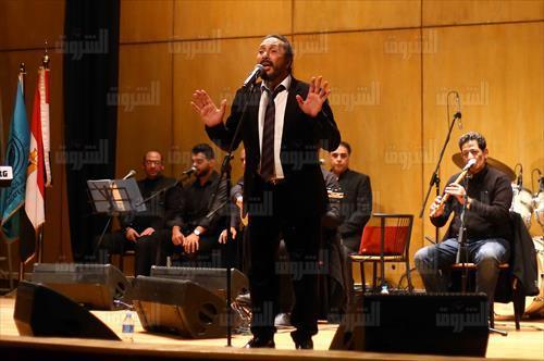 علي الحجار يحتفل بألبومه الجديد في نقابة الصحفيين - تصوير: احمد رشدى