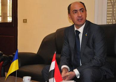 سفير أوكرانيا بالقاهرة هينادي لاتي