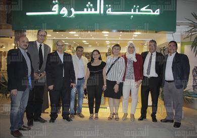 افتتاح مكتبة الشروق بالمهندسين - تصوير: أحمد عبد الجواد