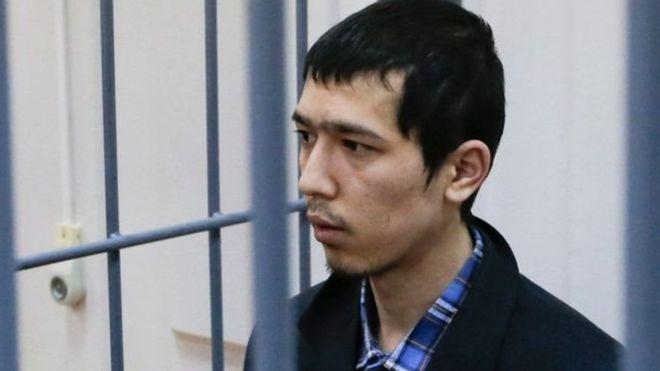 يدعى المشتبه أبرور عظيموف، وهو من مواليد عام 1990، من دولة قيرغزستان