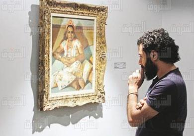 افتتاح مجمع الفنون بالزمالك قصر عائشة فهمى تصوير احمد عبد الفتاح