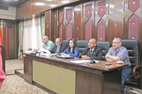 لجنة الخطة و الموازنة تصوير جيهان نصر