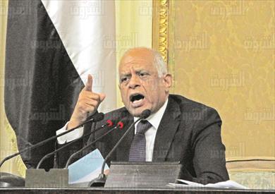 على عبد العال رئيس المجلس جلسه عامة مجلس النواب تصوير لبنى طارق