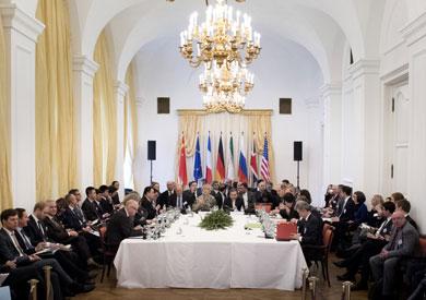 اجتماع بين إيران ومسؤولي الاتحاد الأوروبي حول الاتفاق النووي - أرشيفية