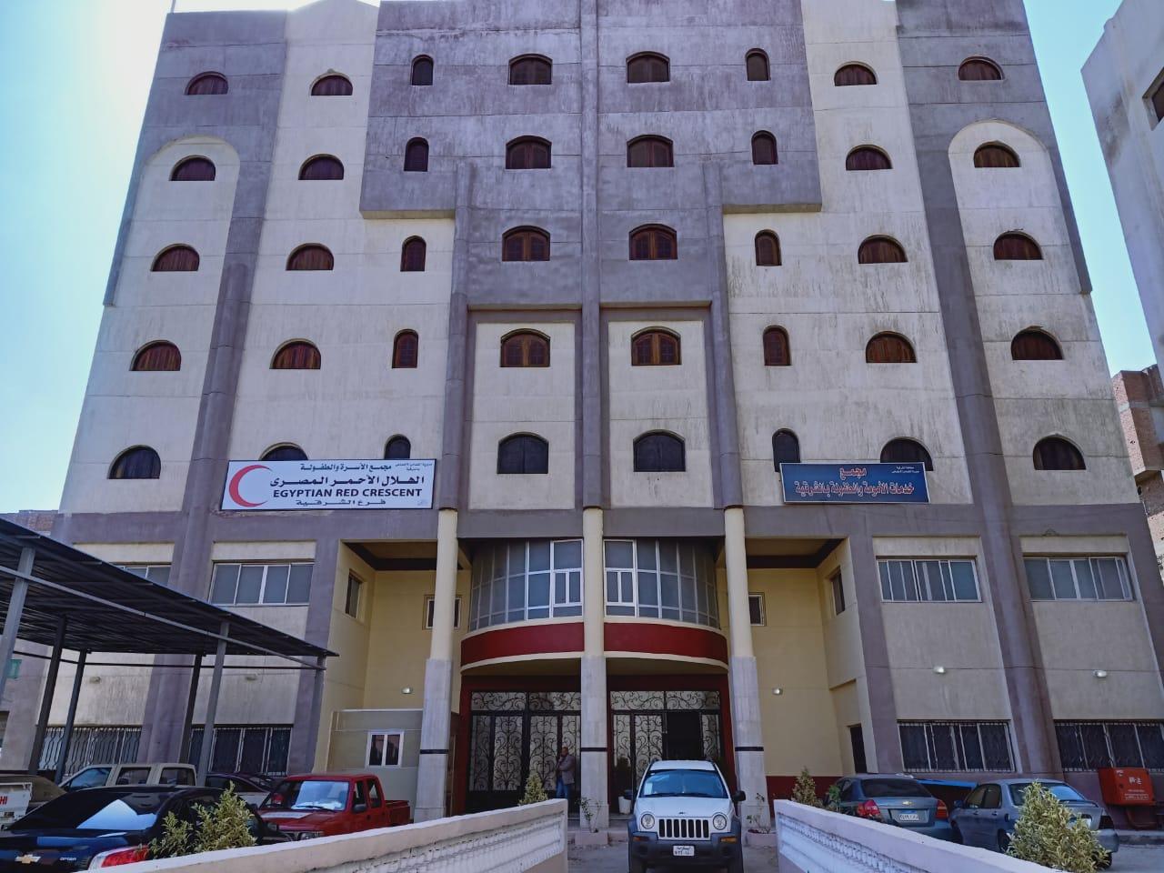مستشفى عزل بالشرقية