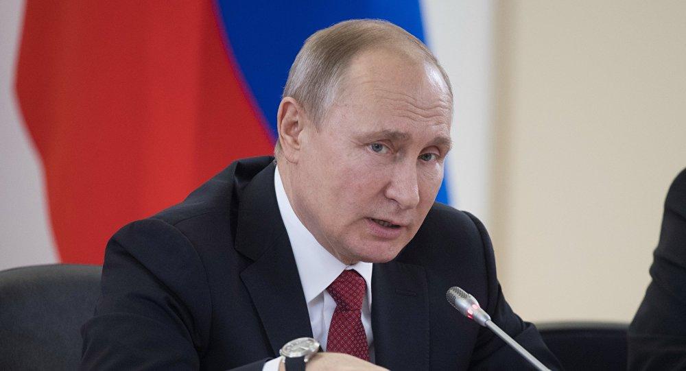 الرئيس الروسي - فلاديمير بوتين