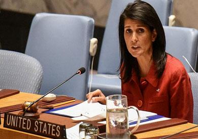 نيكي هالي سفيرة أمريكا في الأمم المتحدة