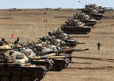دبابات تركية - أرشيفية