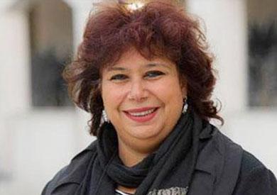 إيناس عبدالدايم وزيرة الثقافة