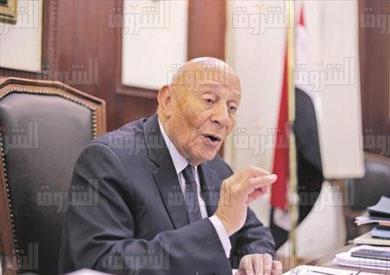 محمد فايق رئيس المجلس القومي لحقوق الانسان تصوير روجيه أنيس