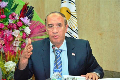 احمد جعيص رئيس جامعة اسيوط<br/>