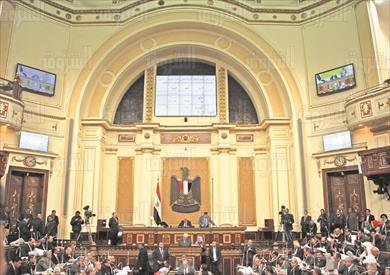 جلسة عامة فى البرلمان  تصوير لبنى طارق