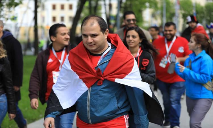 جانب من الجالية المصرية بموسكو