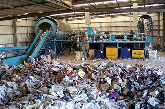 مصنع تدوير المخلفات بالمنيا