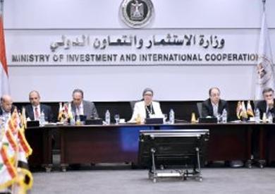 رئيس هيئة الاستثمار تستقبل وفدا من الجمعية «المصرية - اللبنانية»