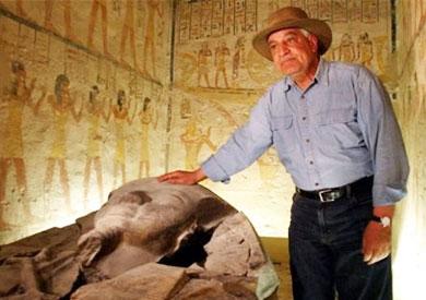 زاهي حواس وزير الآثار الأسبق - أرشيفية