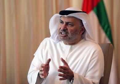 وزير الدولة الإماراتي أنور قرقاش