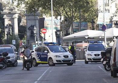 من موقع الدهس ببرشلونة
